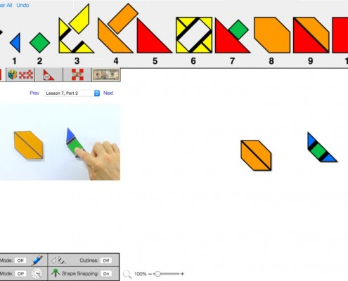Shape Math Web App